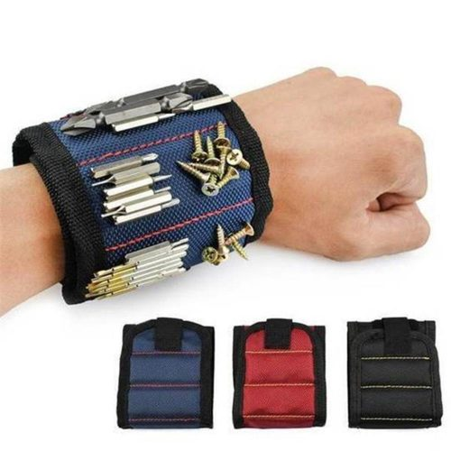 1Pc Polyester Magnetic Wristband
