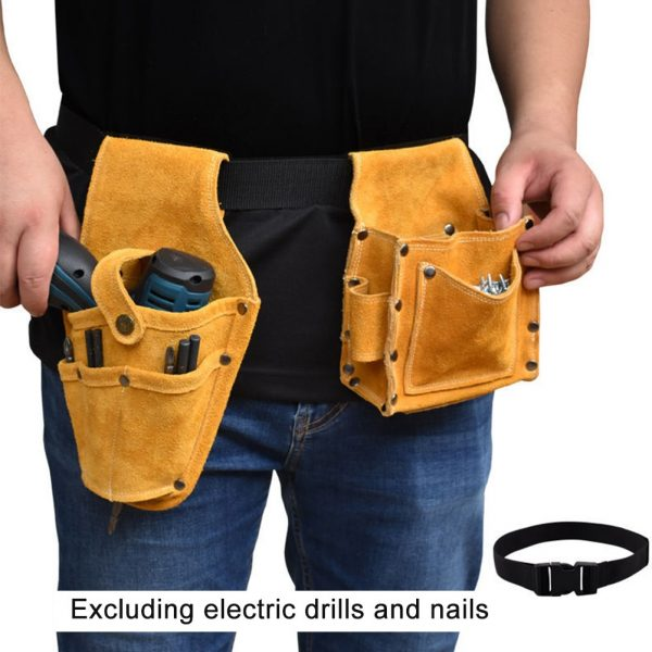 Waist Tools Belt With Professional Electric Drill