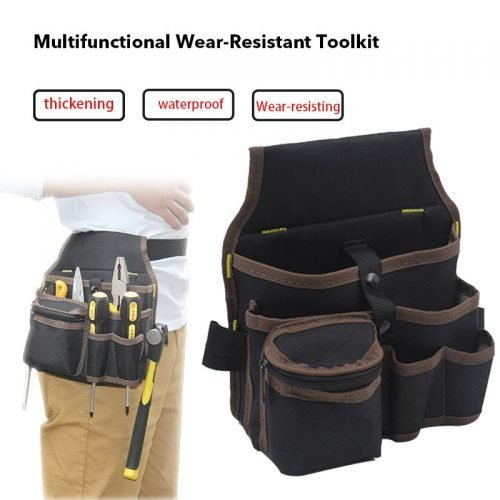Waist Pockets Electrician Tool Bag