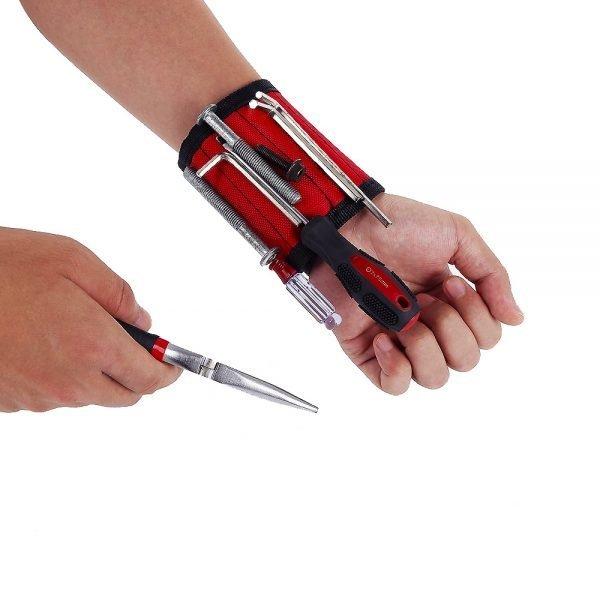 Magnetic Wristband Hand Wraps Tool Bag