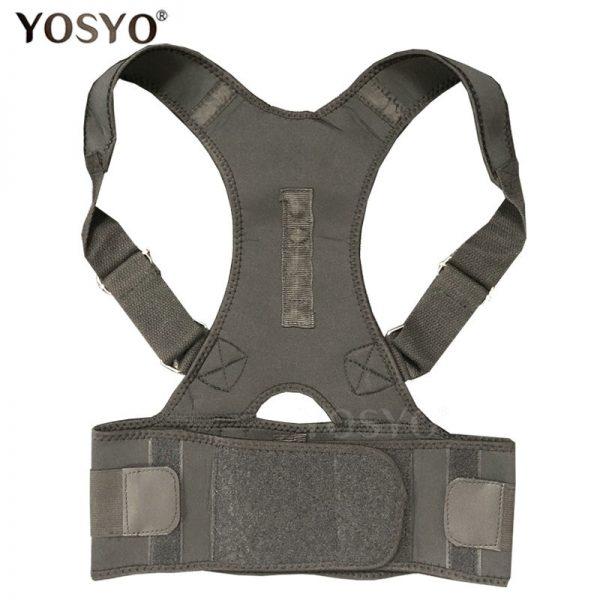 Adjustable Back Posture Corrector Magnetic Therapy Posture Corrector Brace Shoulder Back Brace Support Belt