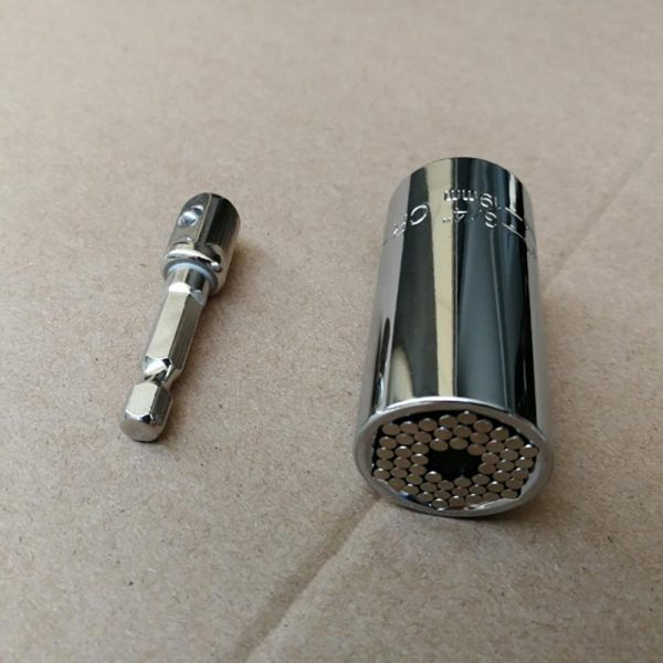 7-19mm Universal Torque Wrench Head Set Socket Sleeve Power Drill Ratchet Bushing Spanner Key Magic Multi Hand Tools Oc26