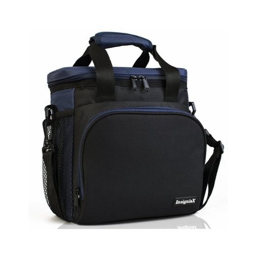 Insigniax Cool Back to School Lunch Box Women Men Boys Thermal Food Grade Fitness Cooler Insulated Lunch Bag for Adults