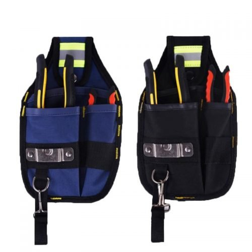 Strong Oxford Cloth tool bag and Thicken Design Wear Waterproof Electrician Wide Tool Belt Holder Kit Pockets