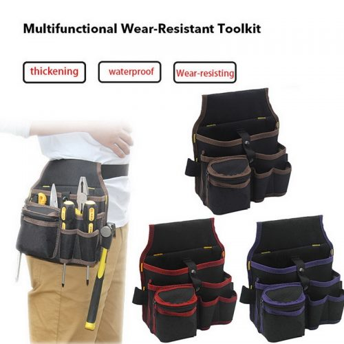 High Quality Hardware Mechanics Canvas Tool Bag