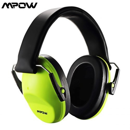 29dB Noise Reduction Safety Ear Muffs Hearing Protection Soft Foam For kids Adults Shooting Safety Construction Studying In Home