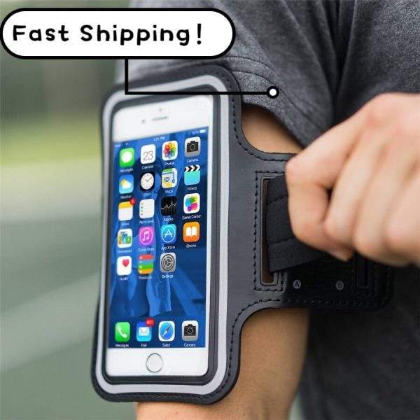 Universal Outdoor Sports Phone Holder Armband Case for Samsung Gym Running Phone Bag Arm Band Case for iPhone 11 xs max 6.5 inch