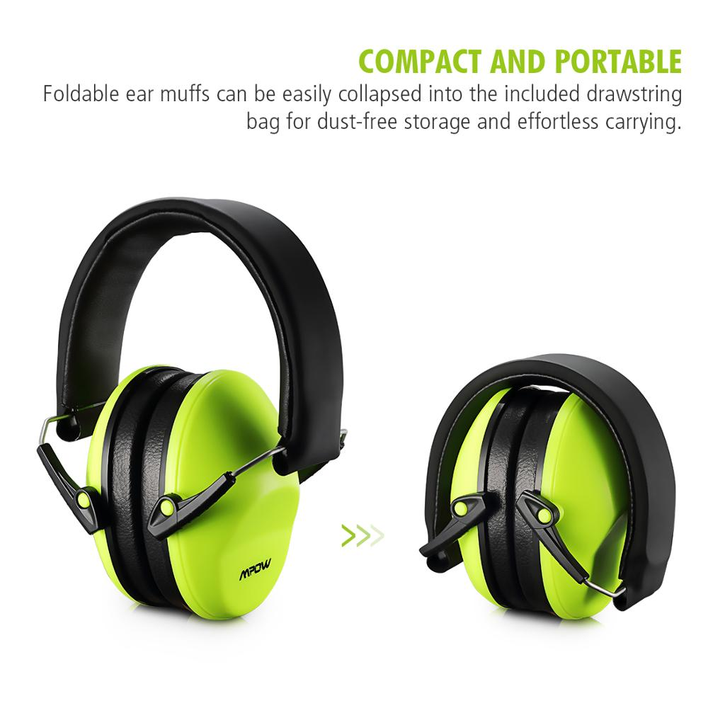 Hearing Protection 29dB Noise Reduction Ear Muffs For all ...