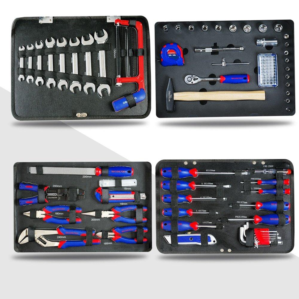119PC Aluminum Tool box Set